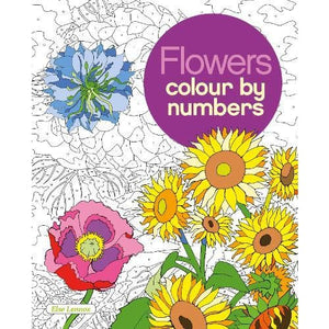 Flowers Colour by Numbers - Arcturus Publishing 9781784049799