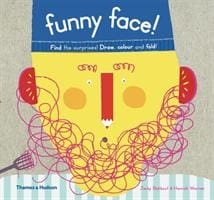 Funny Face!: Find the Surprises! Draw Colour and Fold! - Thames & Hudson 9780500650363