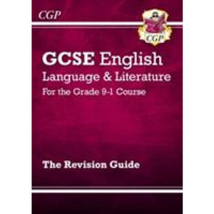 GCSE English Language and Literature Revision Guide - for the Grade 9-1 Courses - CGP Books 9781782943662