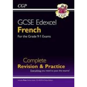 GCSE French Edexcel complete revision & practice with audio-CD - CGP Books 9781782945420