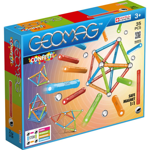 Image of Geomag Confetti 35 pieces (3947975671850)