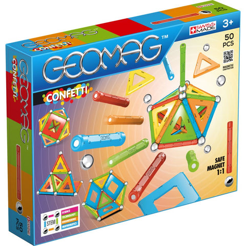 Image of Geomag Confetti 50 pieces - 0871772003526