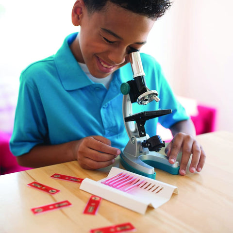Image of GeoSafari Microscope Slide Set - Learning Resources