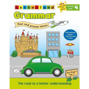 Grammar Activity Book 4 - Letterland International 9781782482789
