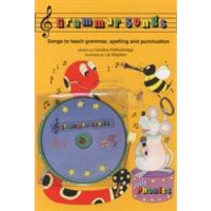 Grammar Songs: In Precursive Letters (British English edition) - Jolly Learning 9781844144341