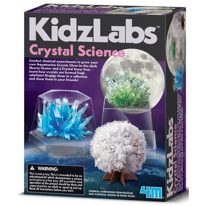 Great Gizmos 4M Kidz Labs Crystal Science - 4893156039170