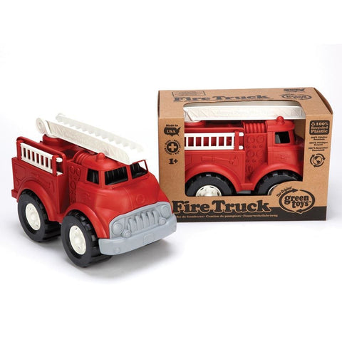 Image of Green Toys Fire Truck - 793573685858