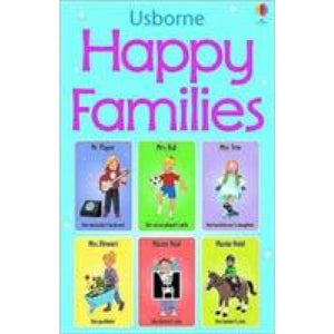 Happy Families Card Game - Usborne Books 9780746060117
