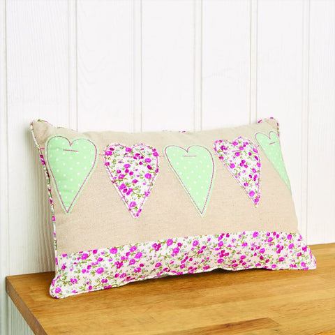 Image of Heart Sewing Cushion Kit - Creativity for Kids 5038041049769