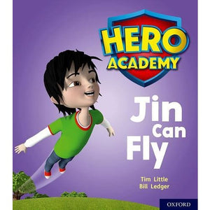 Hero Academy: Oxford Level 1 Lilac Book Band: Jin Can Fly - University Press 9780198415824