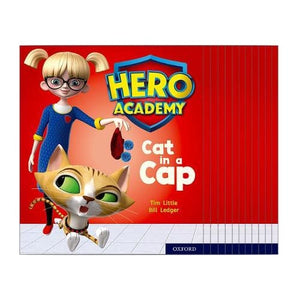 Hero Academy: Oxford Level 1+ Pink Book Band: Mixed pack - University Press 9780198415879