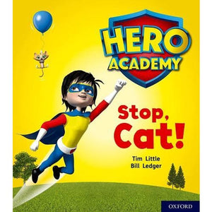 Hero Academy: Oxford Level 1+ Pink Book Band: Stop Cat! - University Press 9780198415909