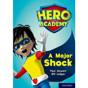 Hero Academy: Oxford Level 12 Lime+ Book Band: A Major Shock - University Press 9780198416791