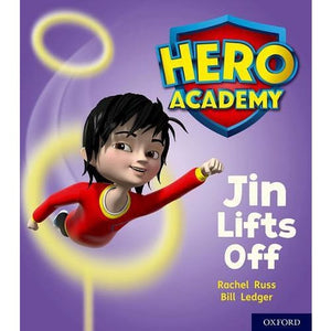 Hero Academy: Oxford Level 2 Red Book Band: Jin Lifts Off - University Press 9780198415978