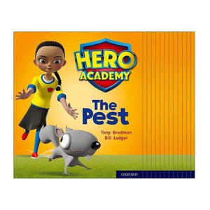 Hero Academy: Oxford Level 4 Light Blue Book Band: Mixed pack - University Press 9780198416111