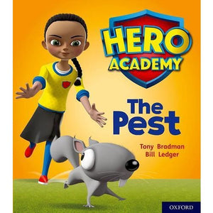 Hero Academy: Oxford Level 4 Light Blue Book Band: The Pest - University Press 9780198416135