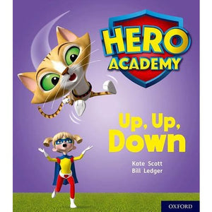Hero Academy: Oxford Level 4 Light Blue Book Band: Up Down - University Press 9780198416159