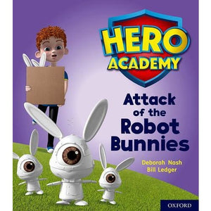 Hero Academy: Oxford Level 5 Green Book Band: Attack of the Robot Bunnies - University Press 9780198416265