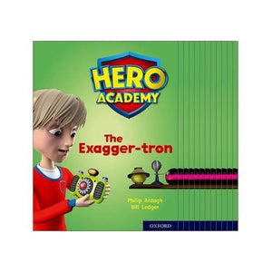 Hero Academy: Oxford Level 7 Turquoise Book Band: Mixed pack - University Press 9780198416357