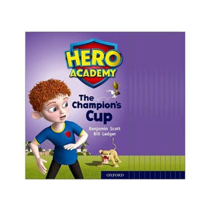 Hero Academy: Oxford Level 9 Gold Book Band: Mixed pack - University Press 9780198416517
