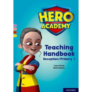 Hero Academy: Oxford Levels 1-3 Lilac-Yellow Book Bands: Teaching Handbook Reception/Primary 1 - University Press 9780198416876
