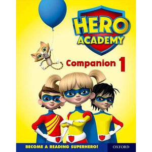 Hero Academy: Oxford Levels 1-6 Lilac-Orange Book Bands: Companion 1 Single - University Press 9780198416845