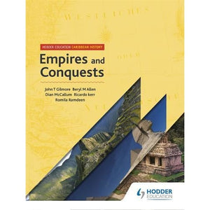 Hodder Education Caribbean History: Empires and Conquests - 9781510436695