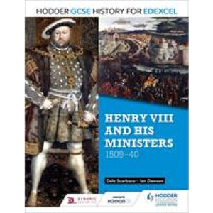 Hodder GCSE History for Edexcel: Henry VIII and his ministers 1509-40 - Education 9781471861789