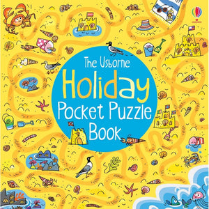 Holiday Pocket Puzzle Book - Usborne Books