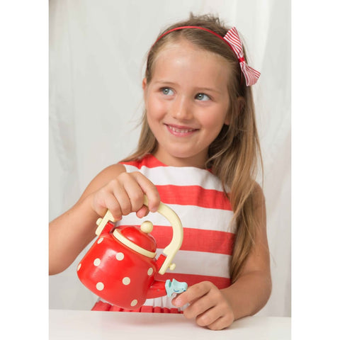Image of Honeybake Dotty Kettle - Le Toy Van