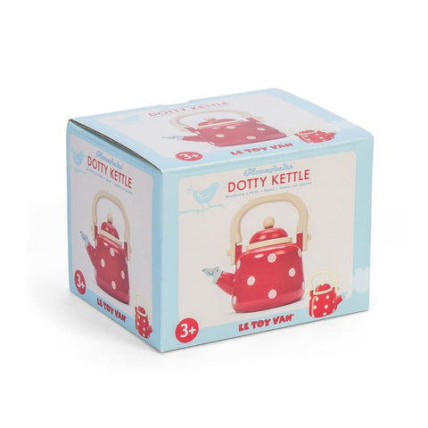 Image of Honeybake Dotty Kettle - Le Toy Van 5060023413121