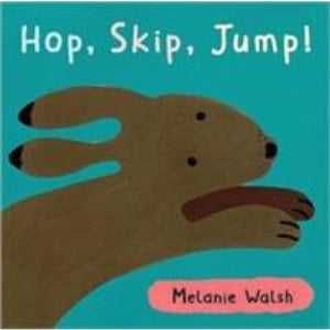 Hop,Skip,Jump! Board Book - Walker Books 9781844288465