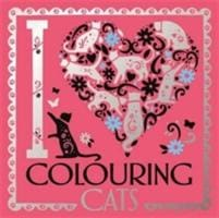 I Heart Colouring Cats - Michael O'Mara Books 9781780554327