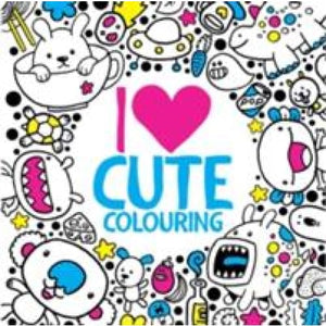 I Heart Cute Colouring - Michael OMara Books