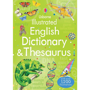 Illustrated English Dictionary & Thesaurus - Usborne Books 9781409584360