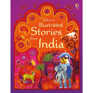 Illustrated Stories from India - Usborne Books