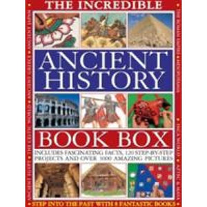 Incredible Ancient History Book Box - Anness Publishing 9781843228004