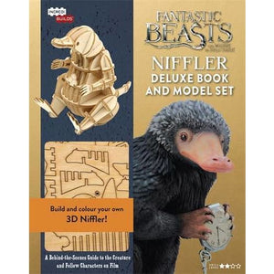 IncrediBuilds - Fantastic Beasts - Niffler : Deluxe model and book set - Bonnier Books