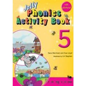 Jolly Phonics Activity Book 5: In Precursive Letters (British English edition) - Learning 9781844141579