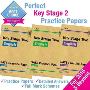 Key Stage 2 English Practice Papers for 2016 & Beyond - BrightMinds Revision Packs