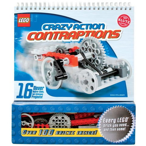 Image of Klutz Lego Crazy Action Contraptions - 9781591747697