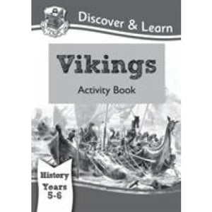 KS2 Discover & Learn: History - Vikings Activity Book Year 5 6 - CGP Books 9781782942023
