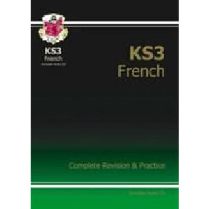 KS3 French Complete Revision and Practice with Audio CD - CGP Books 9781841464367