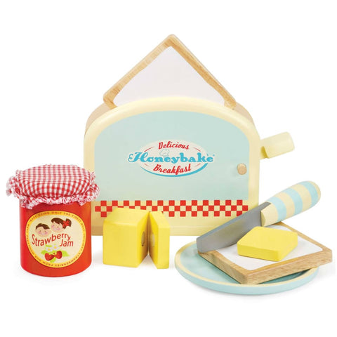 Image of Le Toy Van Wooden Toaster Set