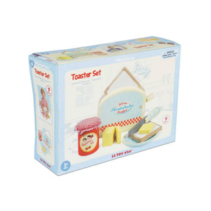 Le Toy Van Wooden Toaster Set