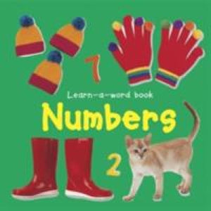 Learn-a-word Book: Numbers - Anness Publishing 9781843227502