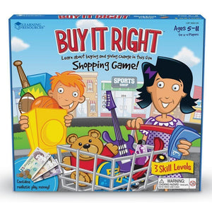 Learning Resources Buy it Right Shopping Game - 765023526523