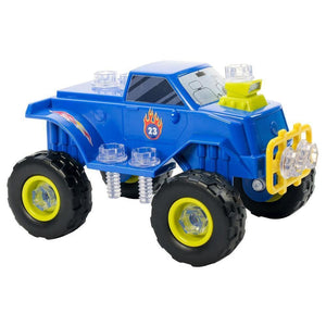 Learning Resources Design and Drill Monster Truck Power Play - 86002041326