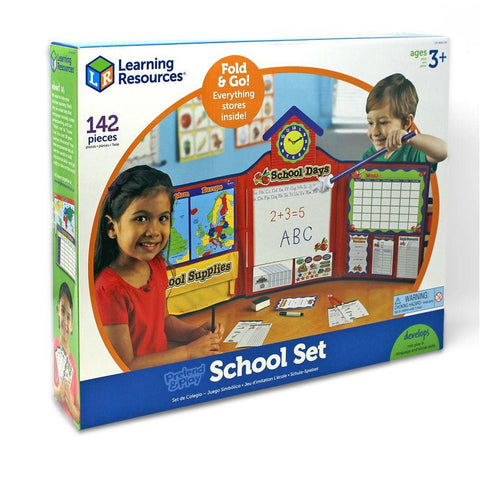 Image of Learning Resources Pretend and Play School Set - 765023526424