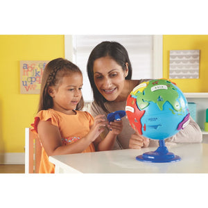 Learning Resources Puzzle Globe - 765023077353